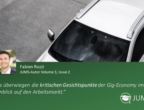 JUMS trifft … Fabien Rozzi