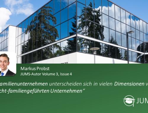 JUMS trifft … Markus Probst
