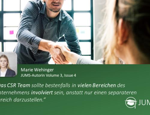JUMS trifft … Marie Wehinger