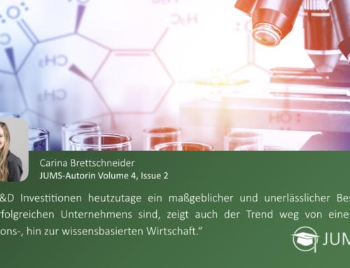 JUMS trifft … Carina Brettschneider